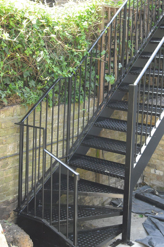 Fire Escape Staircases